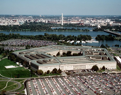 The Pentagon, headquarters of the Department of Defense
