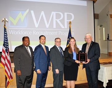 Workforce Recruitment Program Annual Awards Ceremony Held at Pentagon