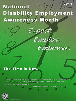 •	National Disability Employment Awareness Month